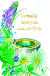Obrázok z Pamiatka na prijatie sviatosti krstu