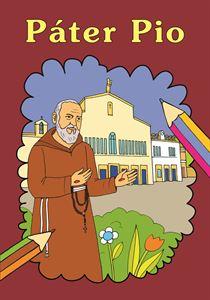 Obrázok z Páter Pio omaľovanka