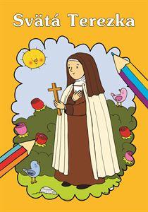 Obrázok z Sv. Terezka omaľovanka