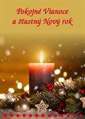 Obrázok pre výrobcu Pokojné Vianoce a šťastný Nový rok