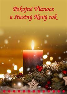 Obrázok z Pokojné Vianoce a šťastný Nový rok