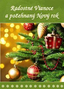 Obrázok z Radostné Vianoce a požehnaný Nový rok