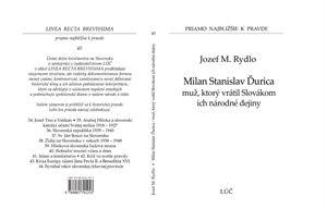 Obrázok z Milan Stanislav Ďurica muž, ktorý vrátil Slovákom ich národné dejiny